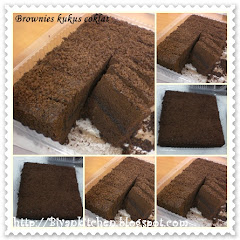 Best seller : Brownies kukus coklat & pandan