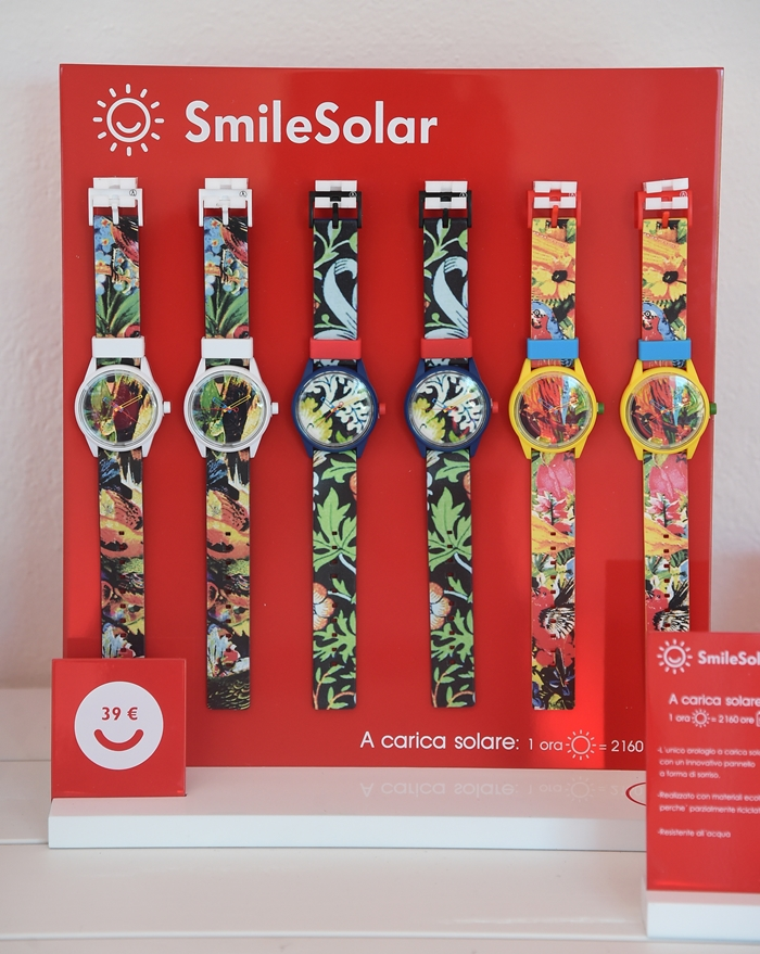 solar energy watches