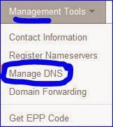 cara setting dns domain .co.id di rumahweb