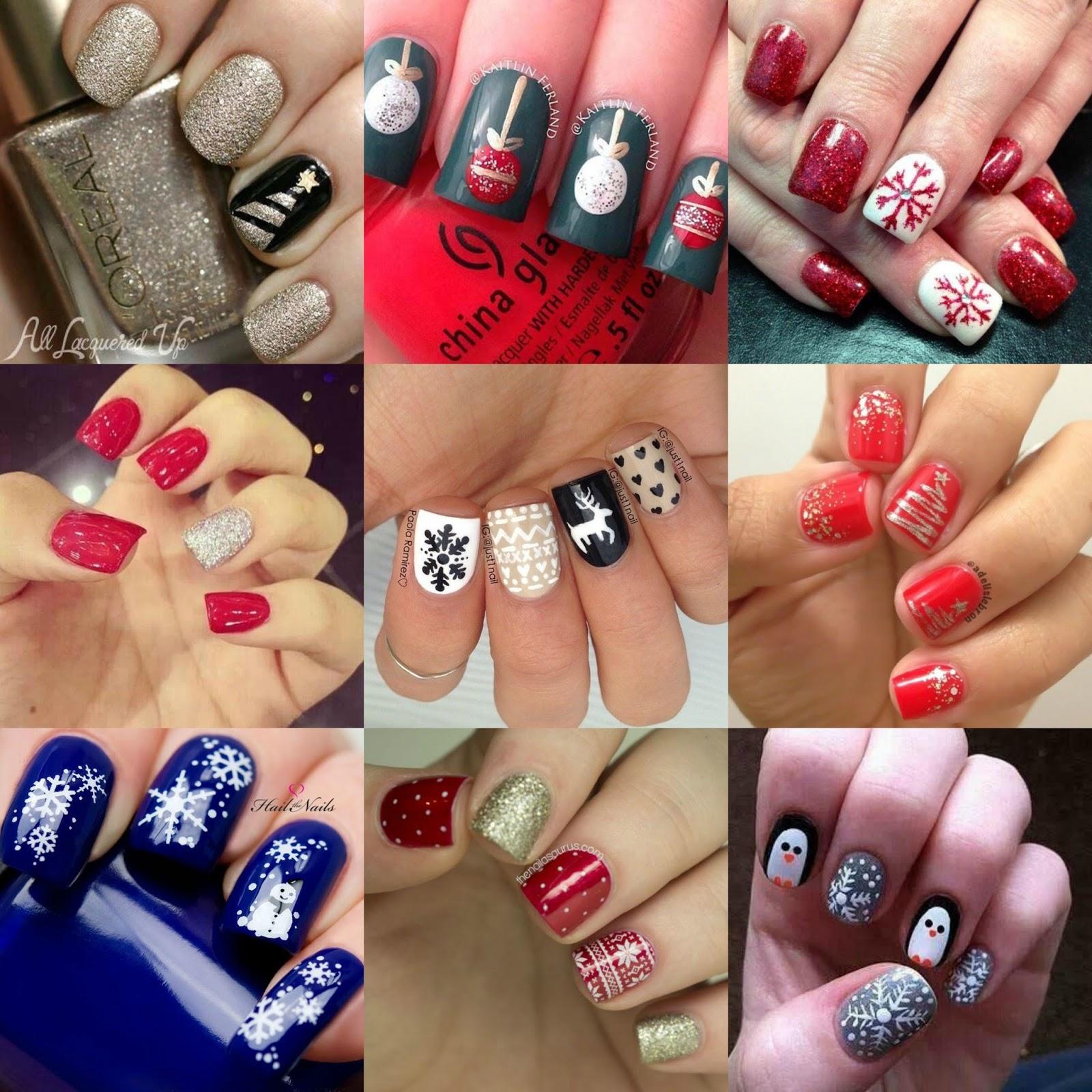 Christmas Manicure Inspiration 2014