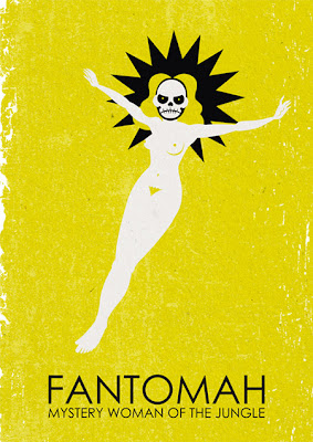 Fantomah poster by Carlos Araujo