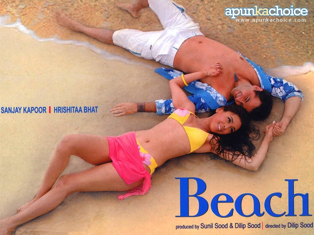 Hrishita Bhatt beach bikini hot