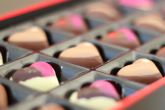 Valentines Sleekster chocolates