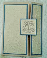 Gate fold Card.