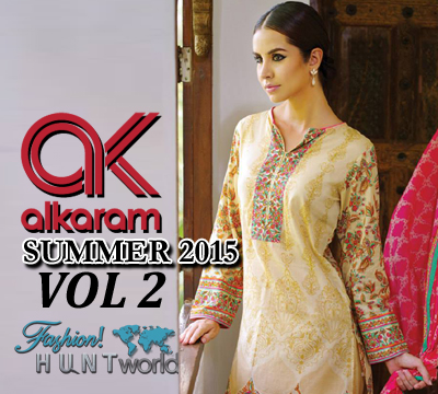 Alkaram Studio Spring/Summer 2015 Vol-2