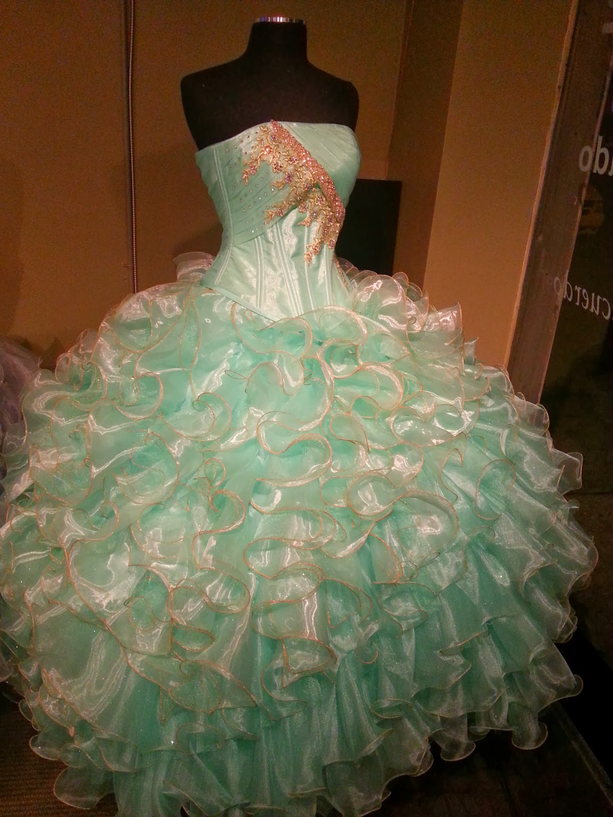 Quinceanera Dresses 2014 Mint Dallas Quinceanera Dre...