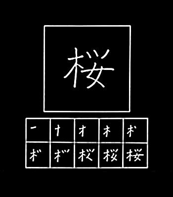 kanji sakura