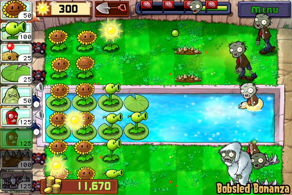 Plants vs Zombies Yeti Zombie