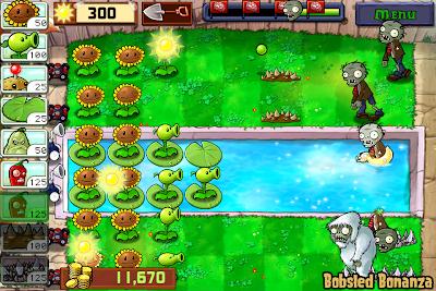 Plants vs Zombies Yeti Zombie
