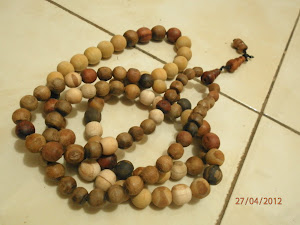 Hand-Made Praying Beads (Tasbih Buatan Tangan)