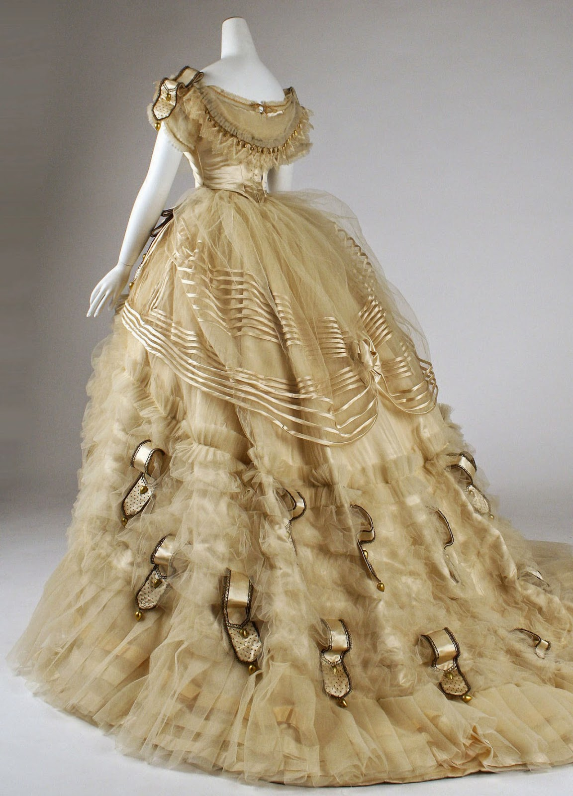 The Jewelry Ladys Store Emile Pingat Ball Gown C 1860