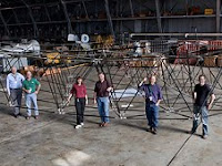 Engineers Assemble Giant 3-D Space Puzzle