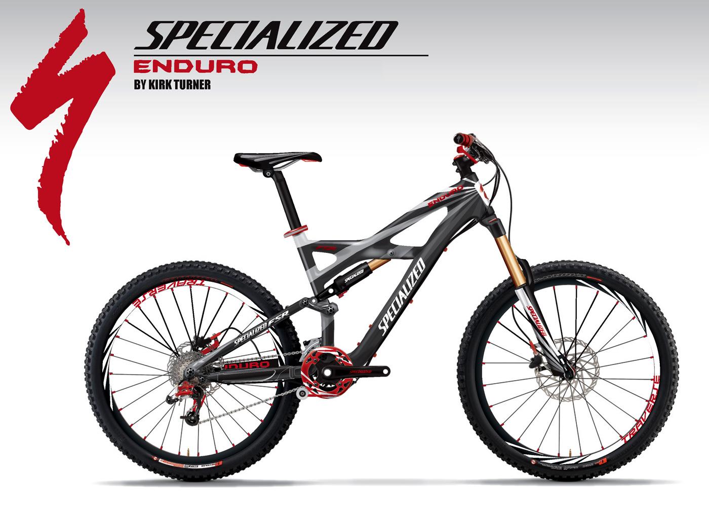 Sticker design for mountain bike - Specialized Enduro Mountain Bike Design Concepts
