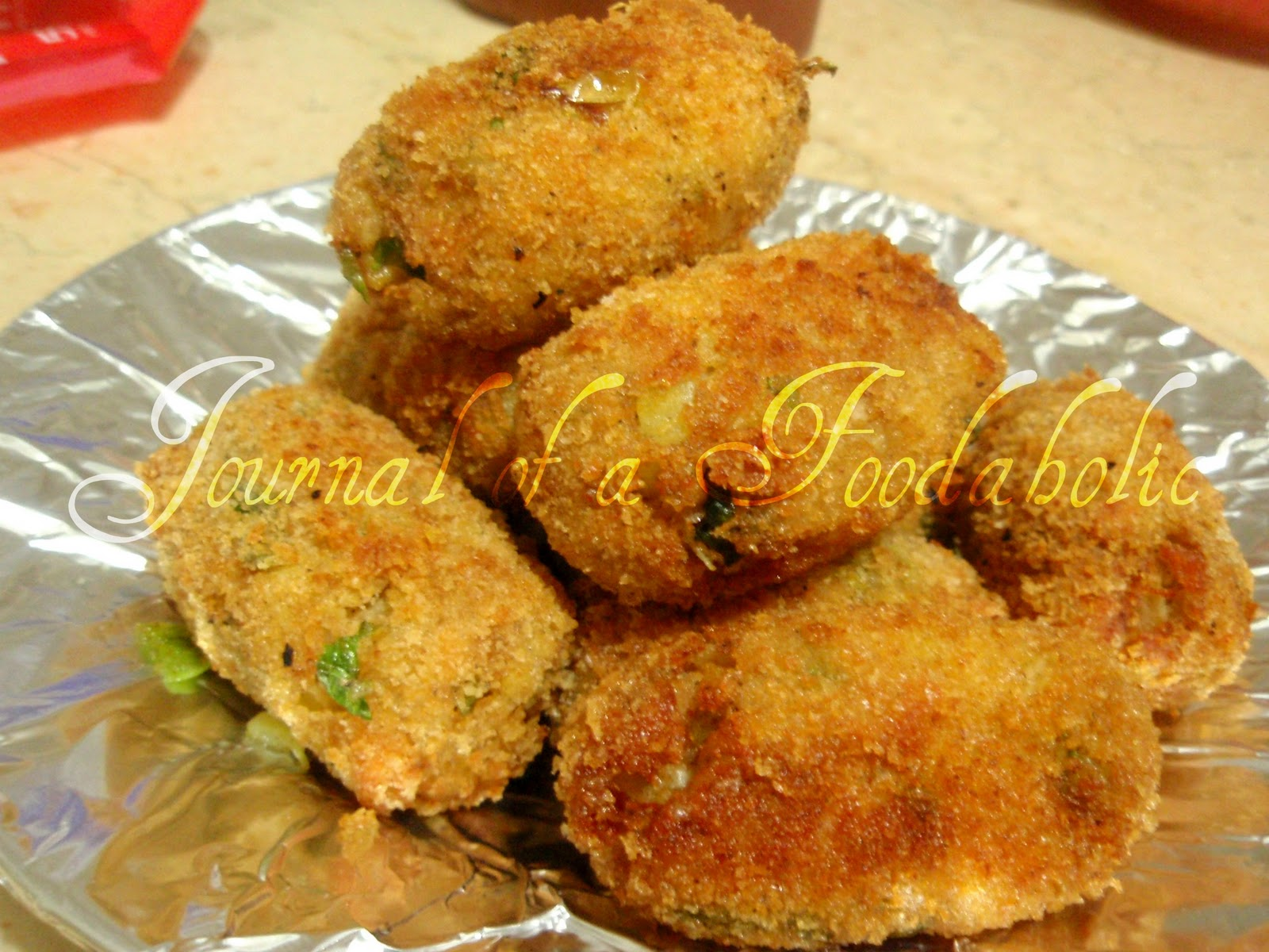 Journal of a Foodaholic: Chicken and Potato Croquettes