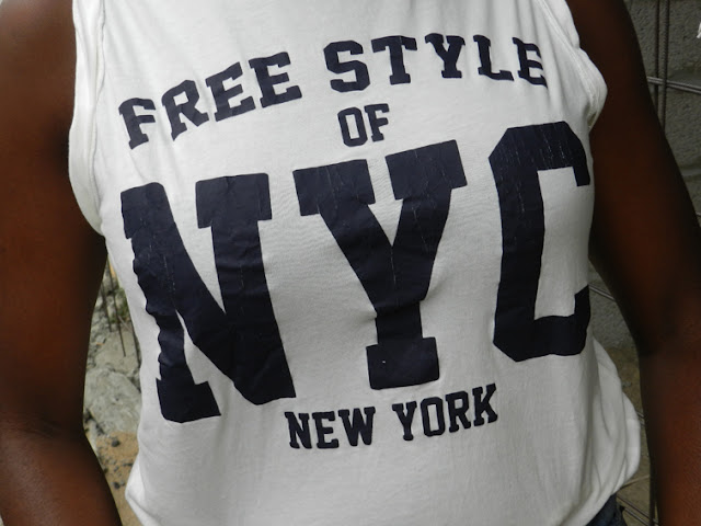FREE STYLE OF NYC PULL AND BEAR TEE SHIRT