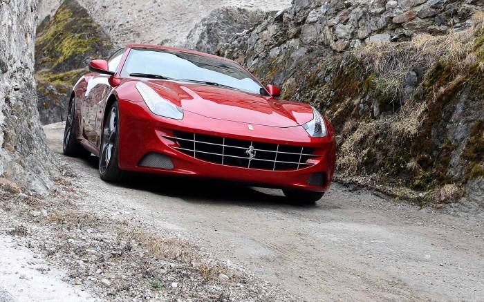 White Ferrari GTO Cars HD Wallpaper