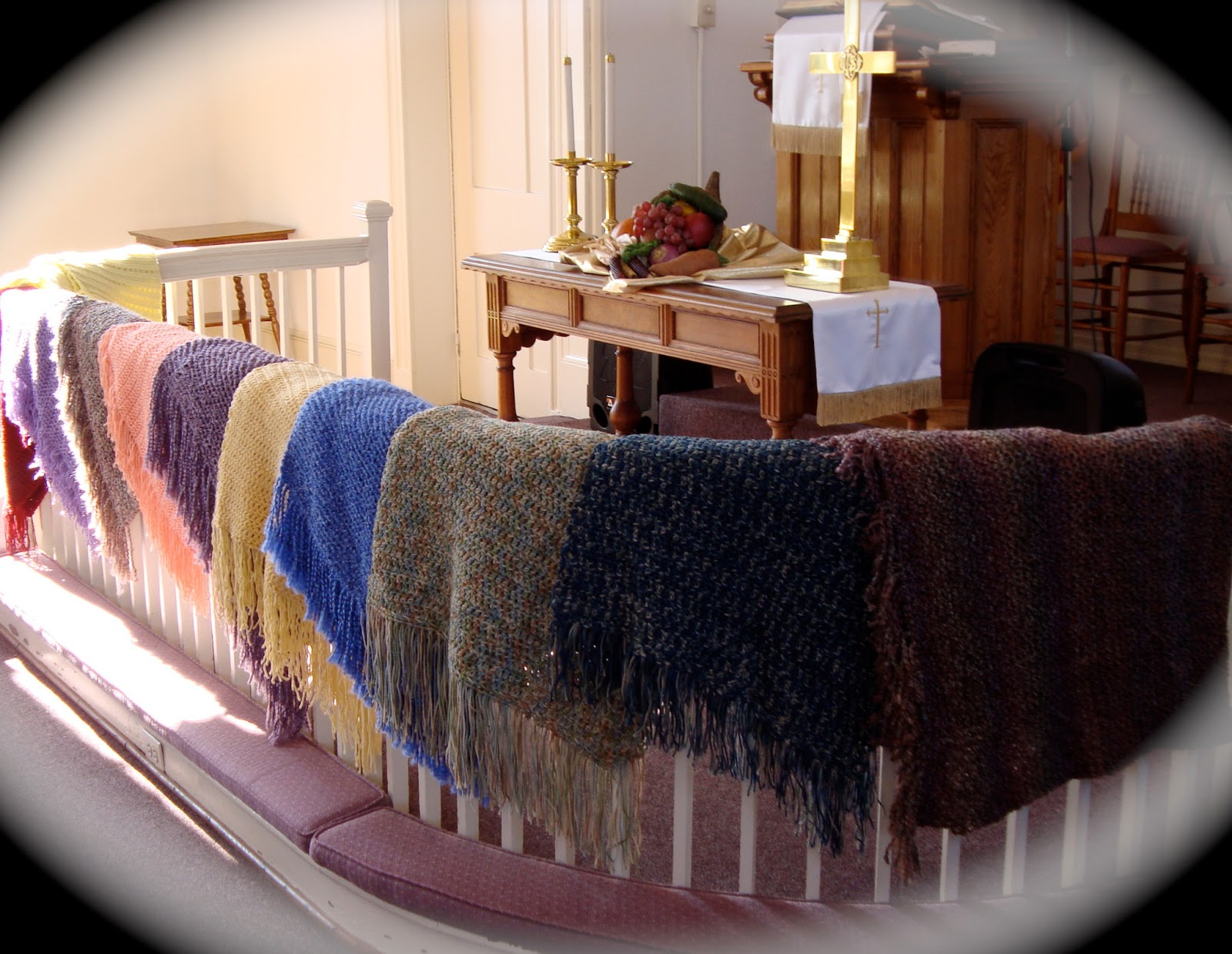 Blankets, Quilts and Shawls: Crocheted Prayer shawl patterns