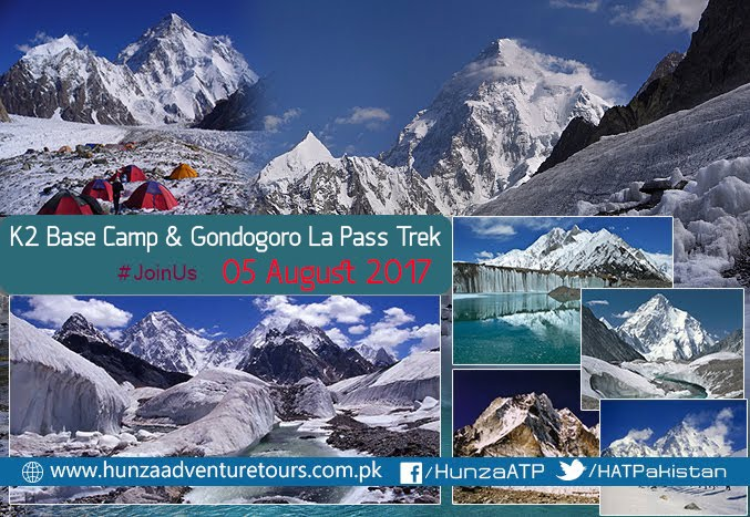 K2 Base Camp & Concordia Trek 2017