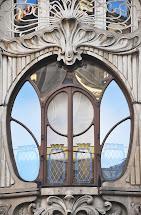 Window Art Nouveau Architecture