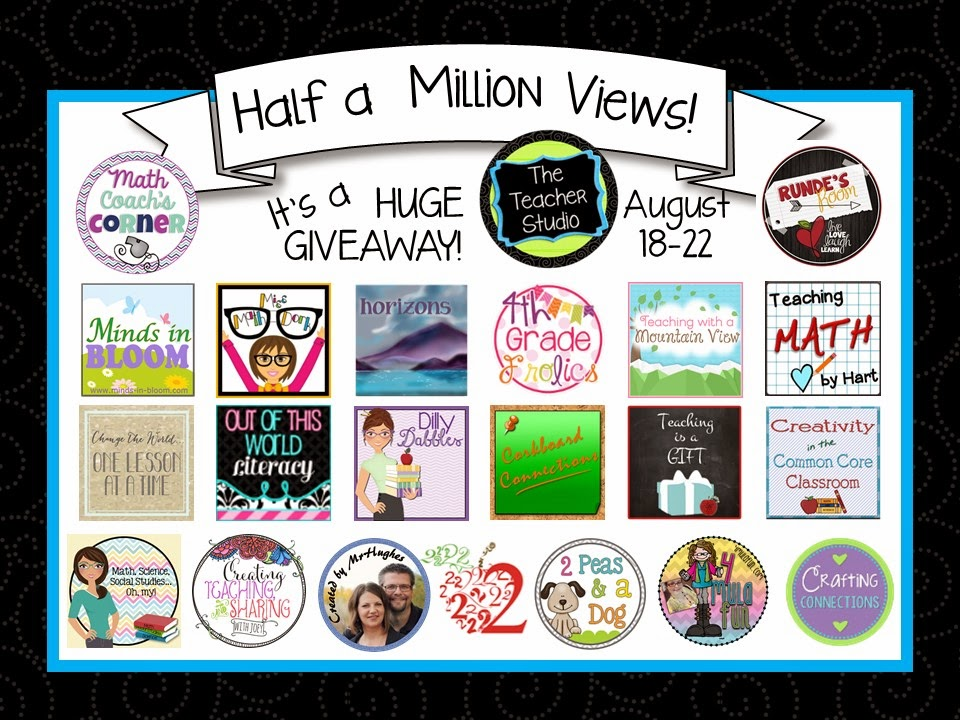 Giveaway hosted by The Teacher Studio via http://teachingisagift.blogspot.ca