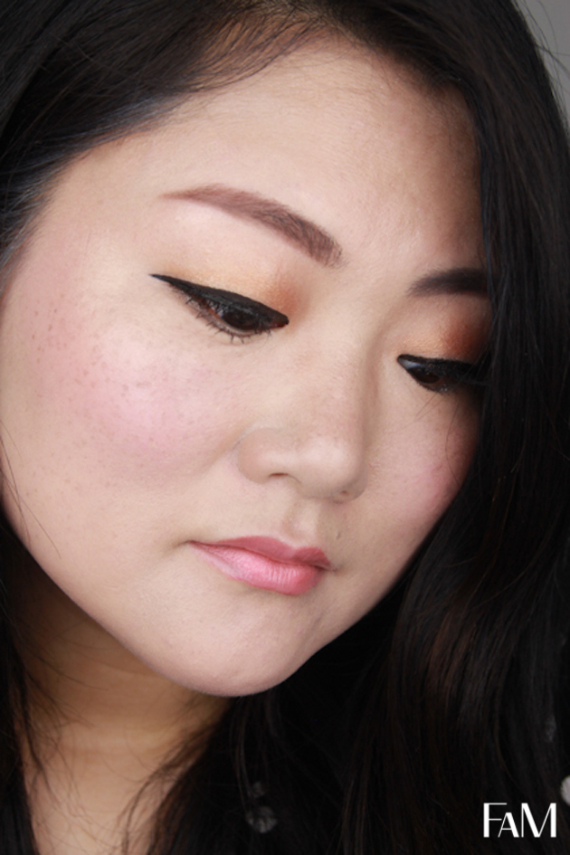 Korean Makeup Style Droppy Eyeliner for asian monolid
