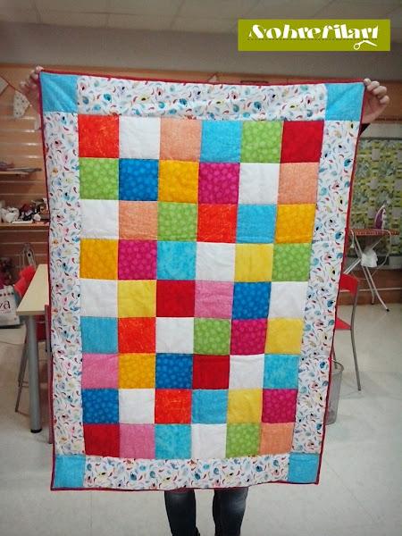 Bebes aprender manualidades es - Como hacer mantas de patchwork ...