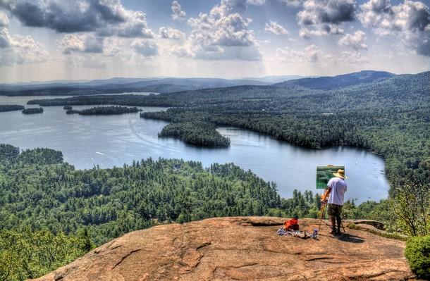 New Hampshire White Mountains, Rockywold, Holderness