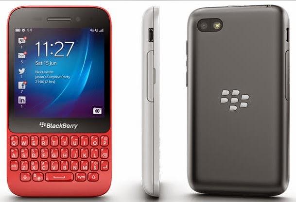 Harga BlackBerry Q5 Terbaru