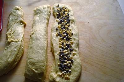 Pan brioche con gocce di cioccolato 10