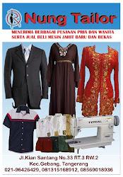 Nung Tailor Terima Pesanan Berbagai Macam Jahitan Busana Pria & Wanita