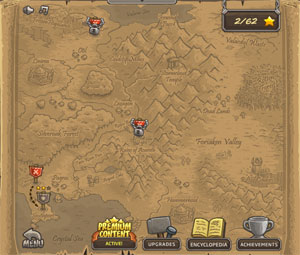 Kingdom Rush Maps