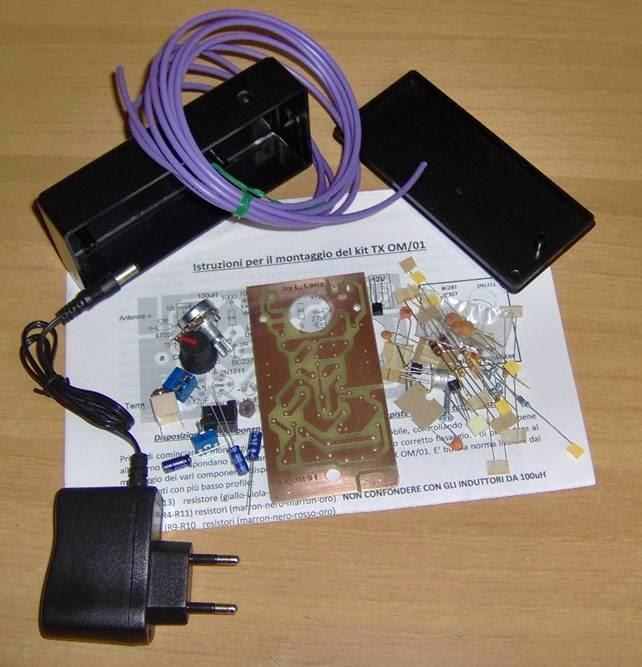 Trasmettitore onde medie kit