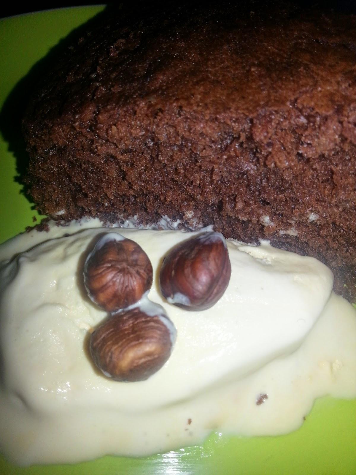 MummaG's Chocolate & Hazelnut Cake