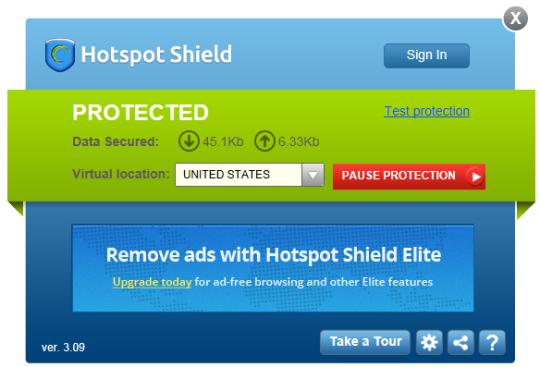 Hotspot shield new version free download 2013