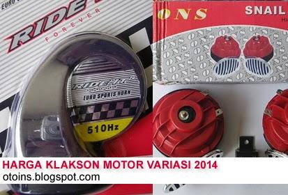 Daftar Harga Klakson Motor Variasi Terbaru 2015