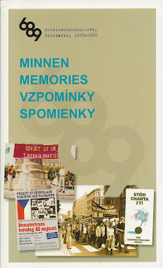 MINNEN. MEMORIES. VZPOMNKY. SPOMIENKY. Utgiven fr konferensen i Stockholm 27 september 2011