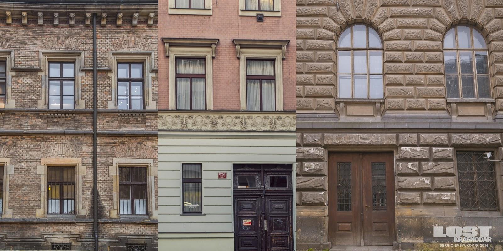 Prague facades