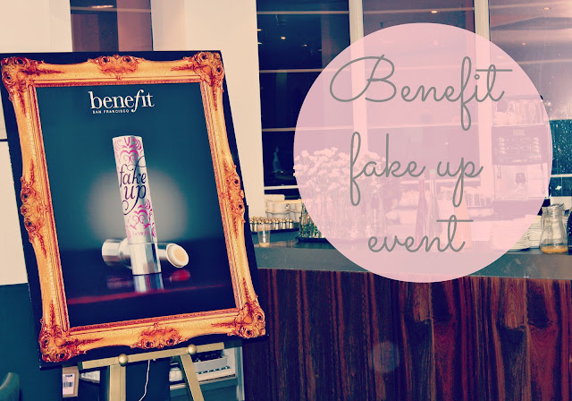 benefit blogger event, benefit fake up review, benefit fake up concealer, beauty blog, UK beauty blogger, makeup reviews