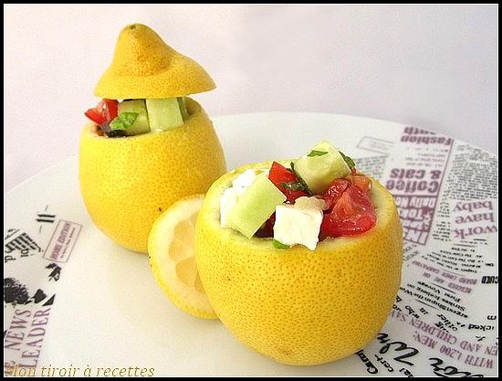 citron farci