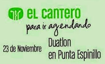 Duatlón en Punta Espinillo (Montevideo, El Cantero MR, 23/nov/2014)