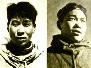 Wang Fu-Chou y Chu Yin-Hua. Los primeros en escalar el Segundo Escalón del Everest