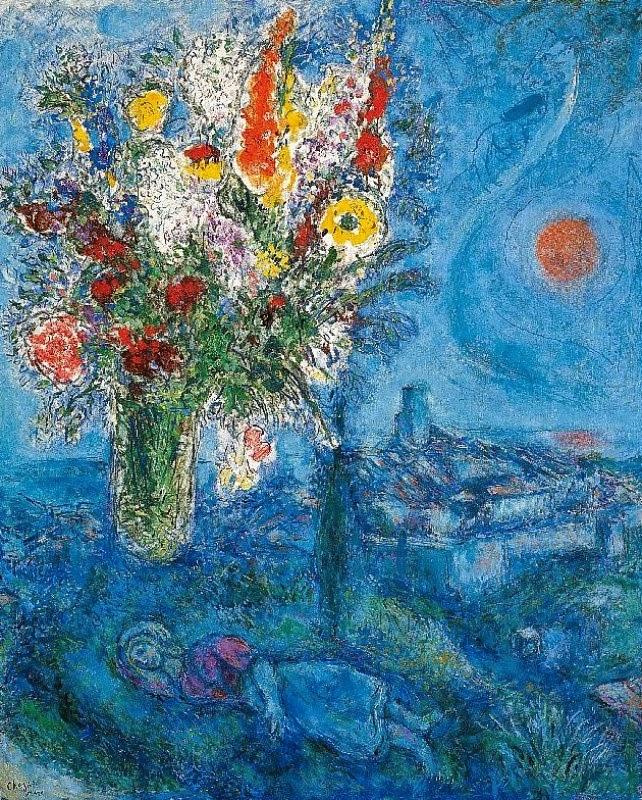 Risultati immagini per chagall