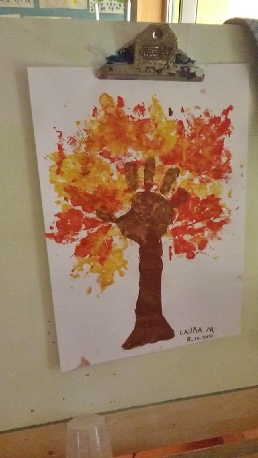ideias para o outono jardim de infancia : ideias para o outono jardim de infancia:Jardim de Infância de Aires – Sala 3: a expressão plástica