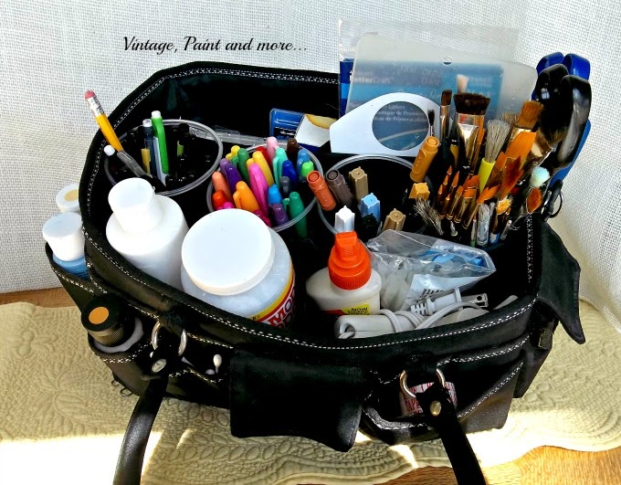 Craft Tool Organization - storage for craft tools, how to organize your craft tools, storing craft tools