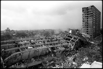 México conmemora los 30 años del terremoto de 1985