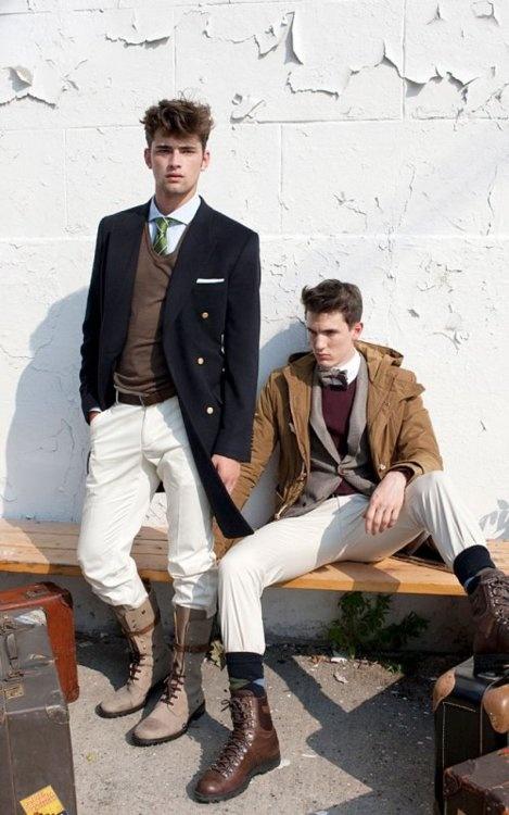 Preppy & Ivy style