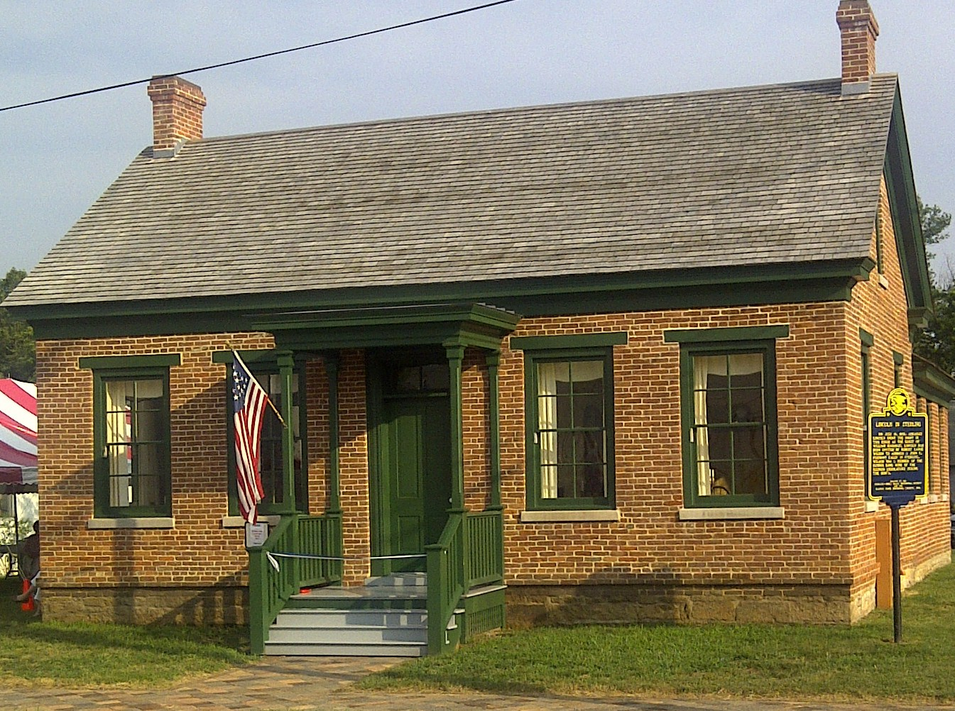 New house museum opens in sterling il for Sterling house