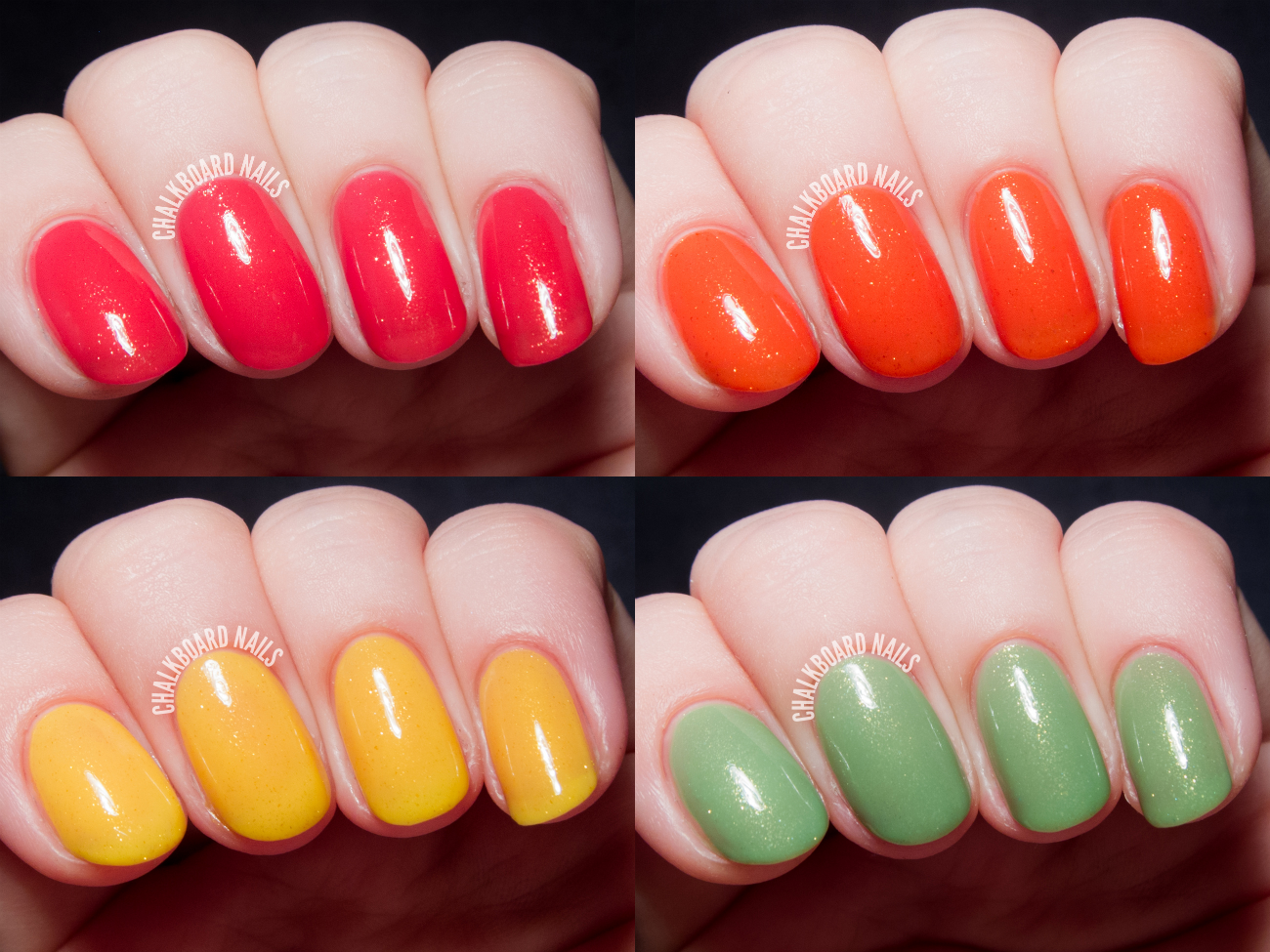 Contrary Polish Polish With A-Peel Collection via @chalkboardnails