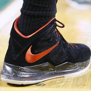 > Nike Lebron X Suede Spotted On Court - Photo posted in Kicks @ BX  (Sneakers &amp; Clothing) | Sign in and leave a comment below!