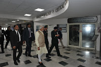 Prime Minister Modi Visits Army &R Hospital To Enquire About Health of Siachen Survivor Soldier